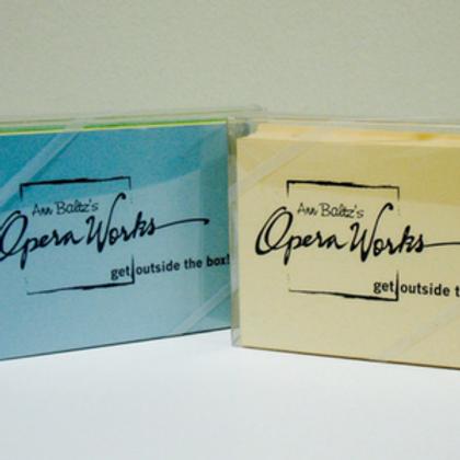 OperaWorks Attitude Card Set