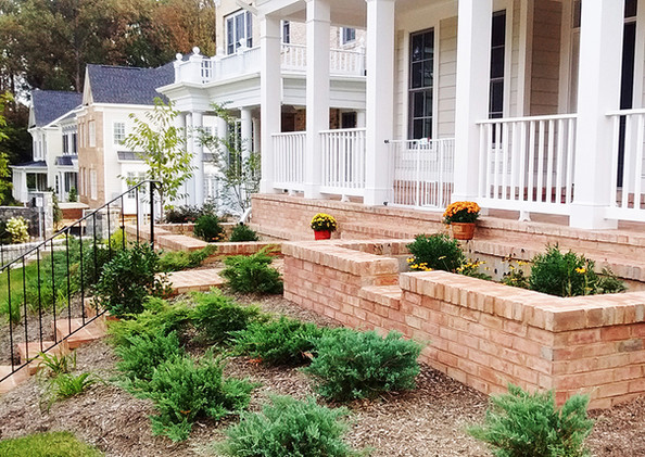 Installed Planter Box at Single Family Residence