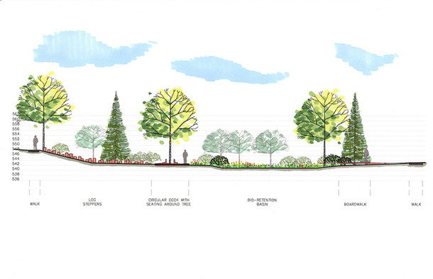 Bioretention Facility & Playground