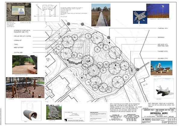 Stormwater Management Facility & Playground