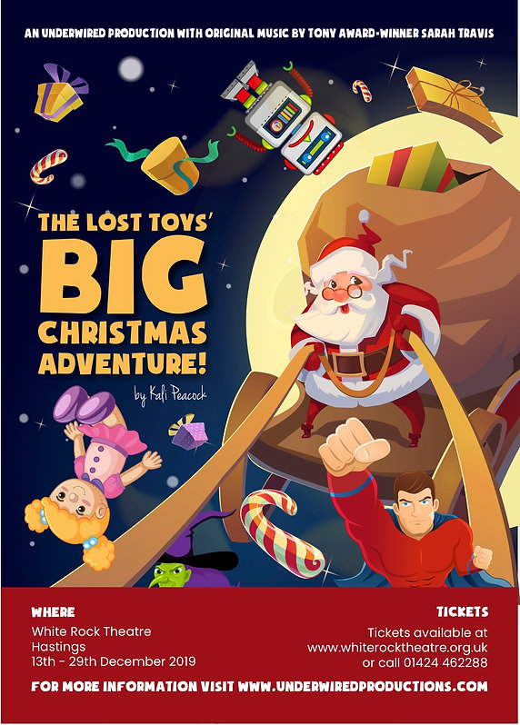 The Lost Toys' Big Christmas Adventure!