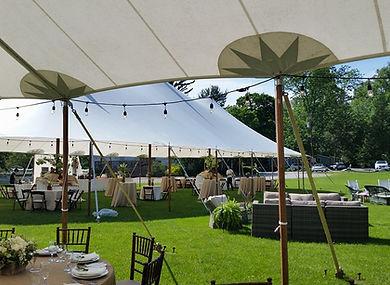 catering tent, mendham