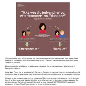 """""""Ikke-vestlig"""" vs. dansker i statistsikker"""