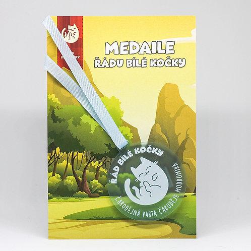 Čarodějná parta - medaile ledová