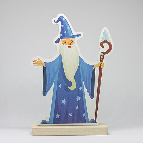 Velký Čaroděj Modromír - dřevo