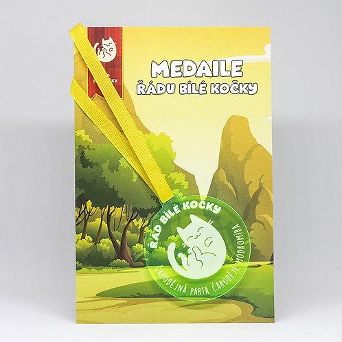 Čarodějná parta - medaile zelená