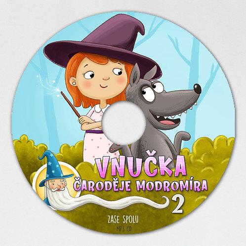 Vnučka čaroděje Modromíra 2 - MP3 CD