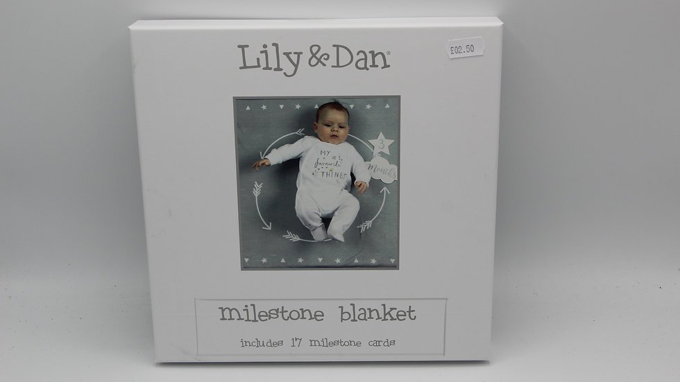 Milestone Blanket Grey