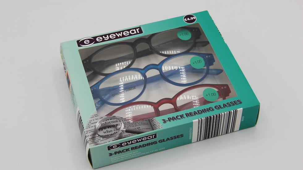 Reading Glasses Coloured Frames