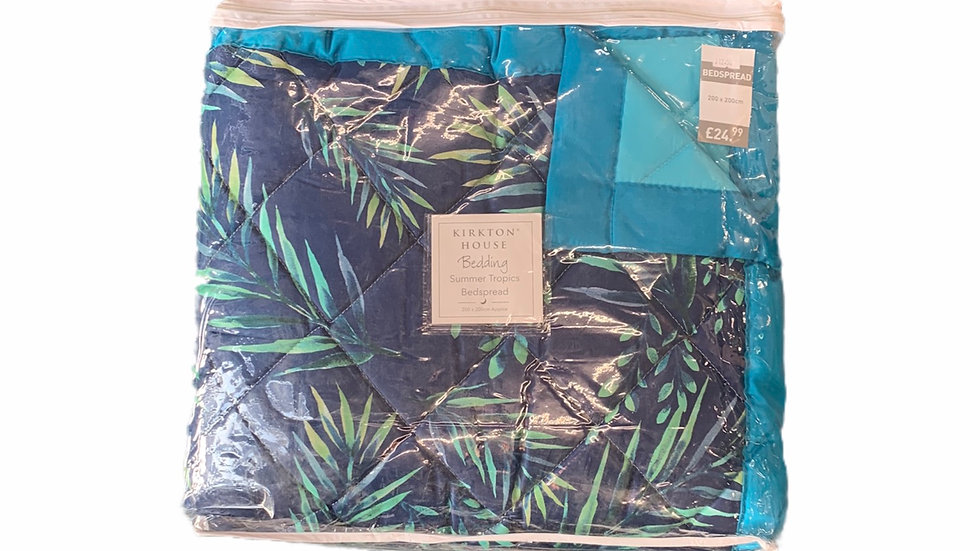 Summer Tropical Bed Spread