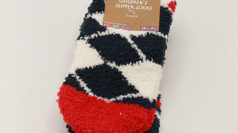 Children's Slipper Socks -Football