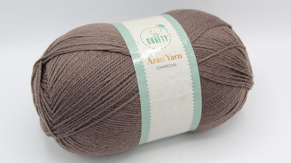 Aran Yarn Charcoal