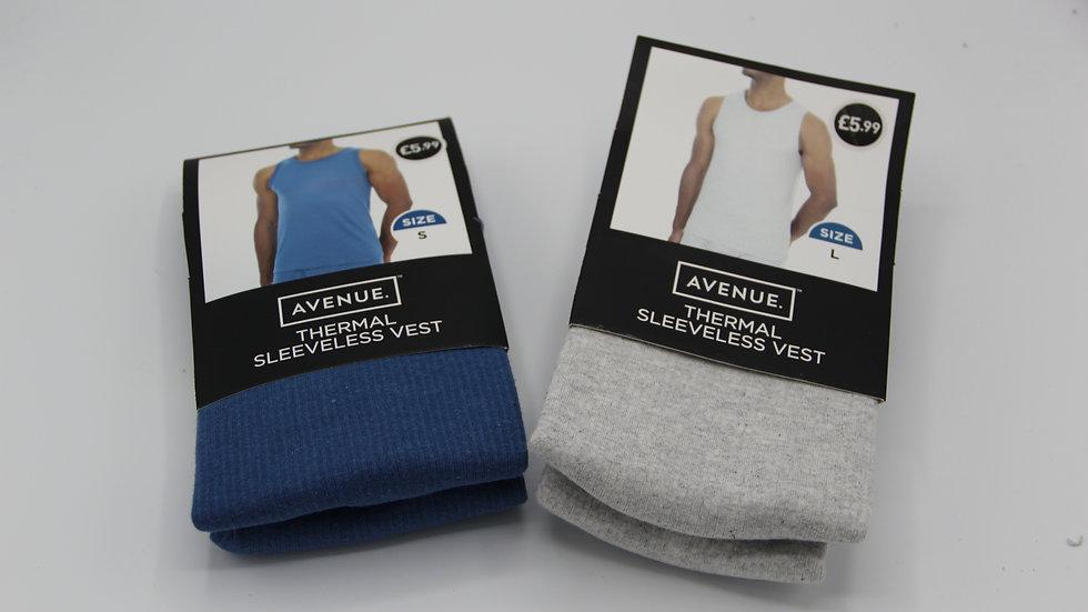 Men's Sleeveless Thermal Vest Top