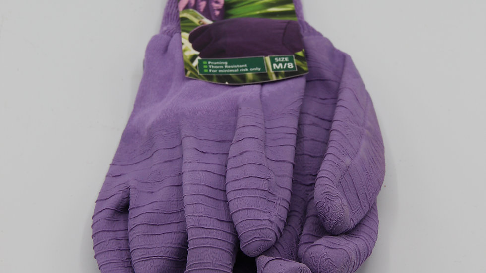 Purple All-Purpose Gardening Gloves