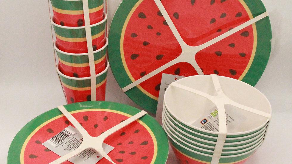 Watermelon Melamine Set