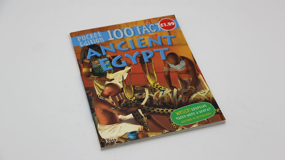 100 Facts Egypt Book
