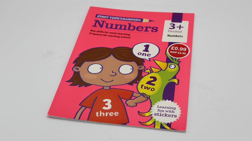 Numbers Workbook 3+