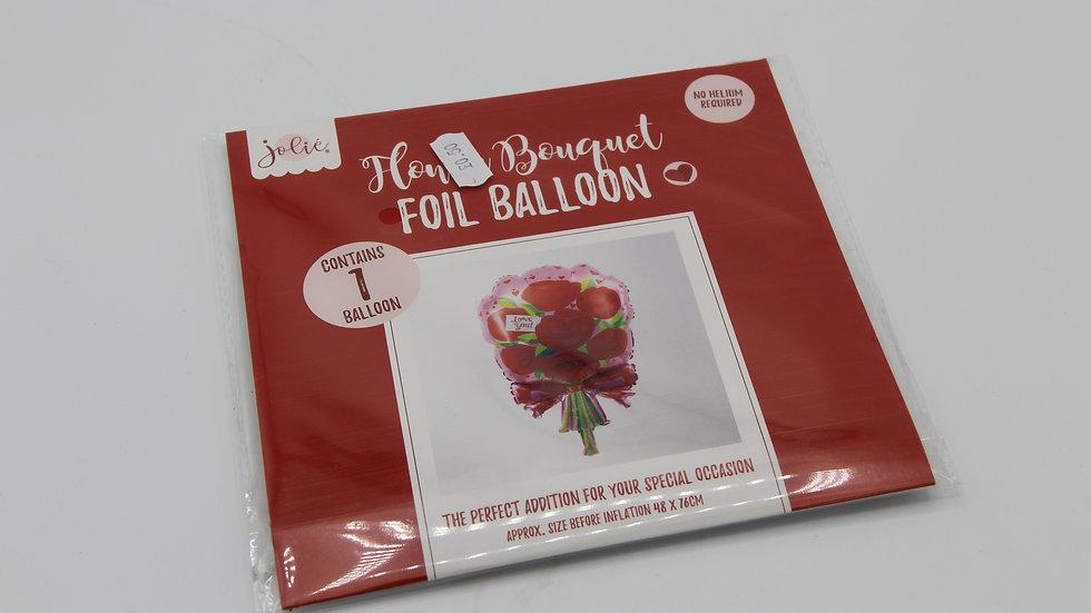 Floral Bouquet Foil Balloon
