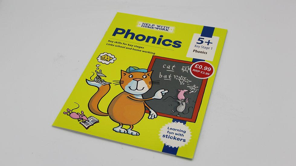 Phonics Workbook 5+