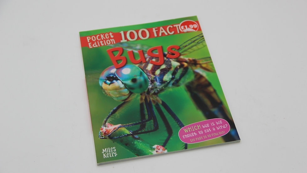 100 Facts Bugs Book