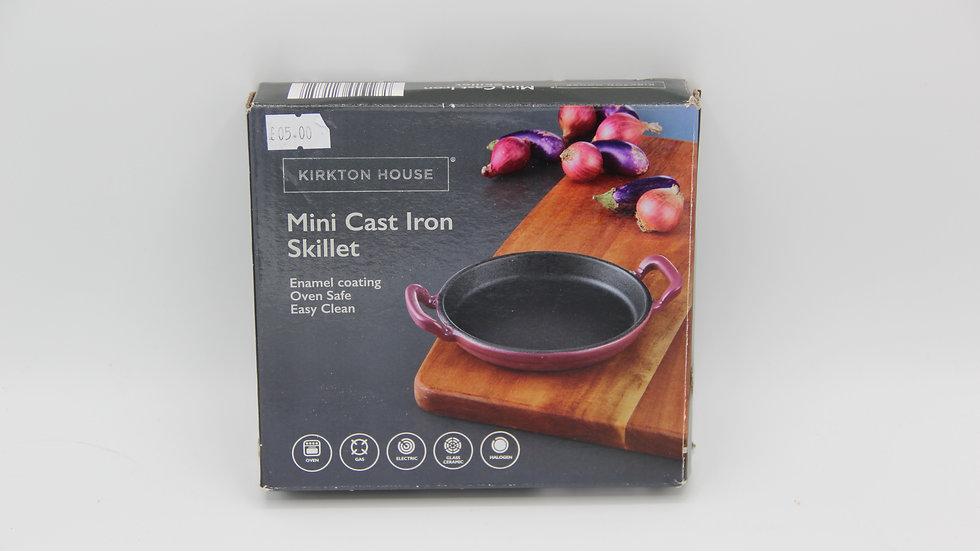 Mini Cast Iron Skillet