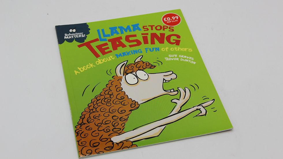Llama Stops Teasing Book