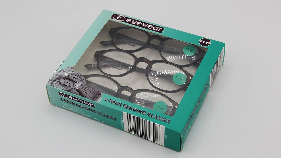 Reading Glasses Black Frames