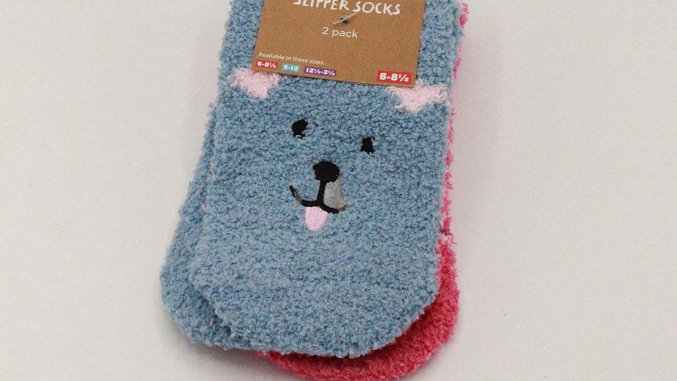 Children's Slipper Socks - Dog