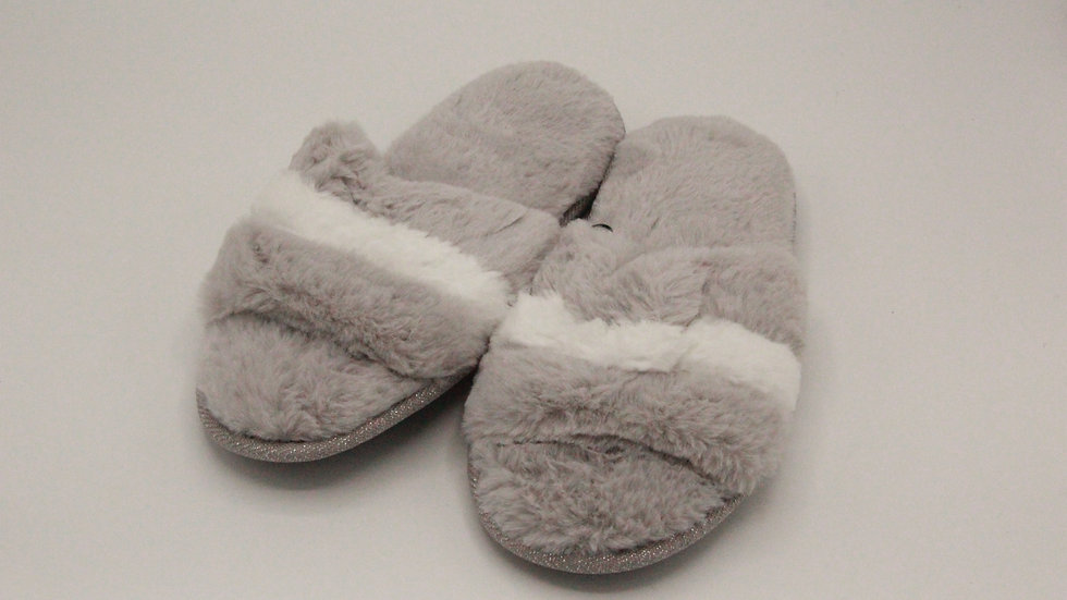 Grey Slider Slippers
