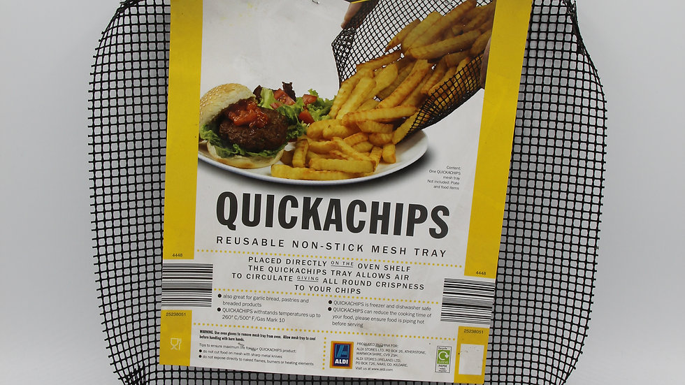 Quick-A-Chips Tray