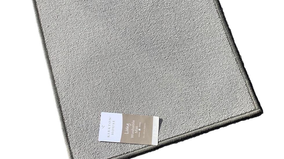 Washable Grey Mat