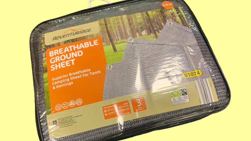 Breathable Ground Sheet - 00172