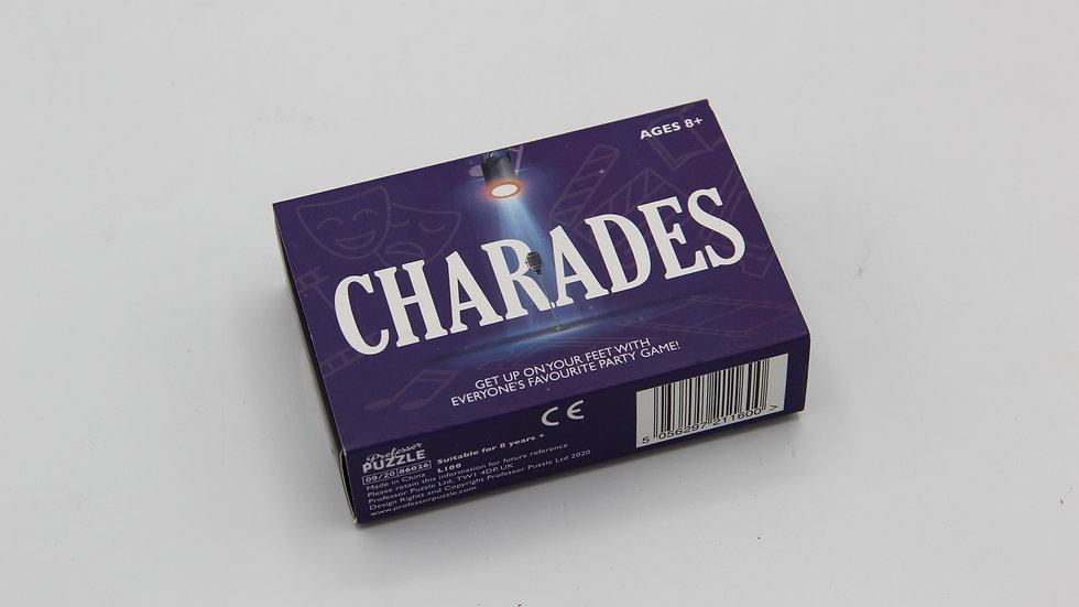 Charades Card Game