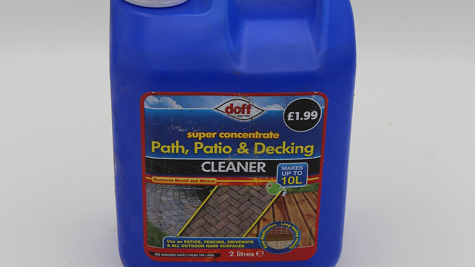 Path, Patio and Decking Cleaner