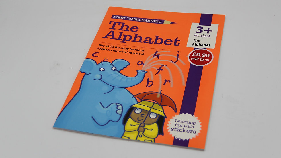 The Alphabet Workbook 3+