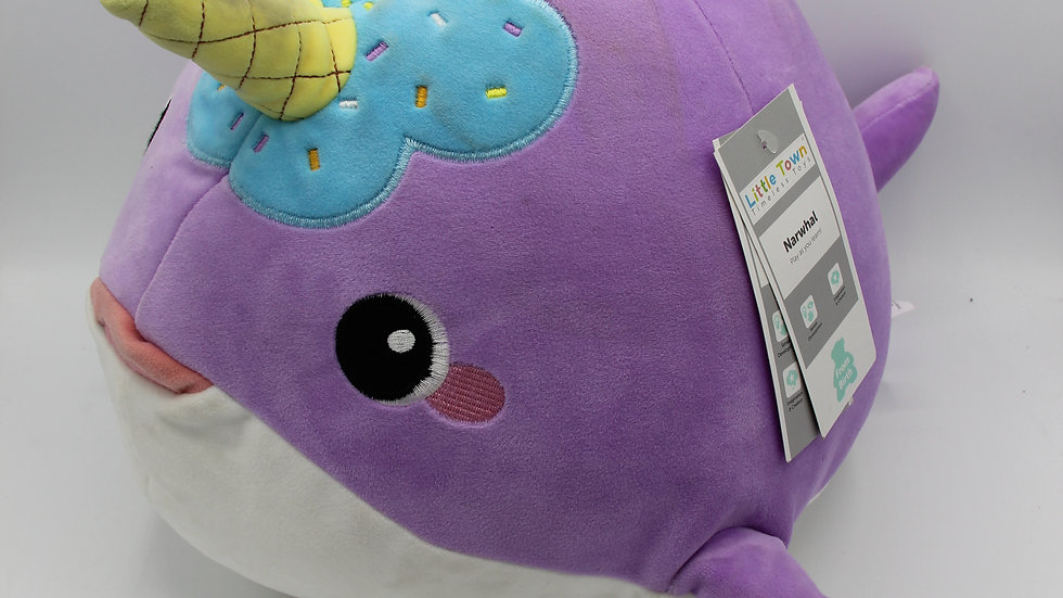 Large Narwhal Teddy
