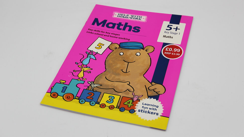 Maths Workbook 5+
