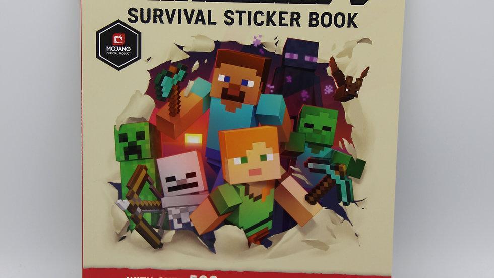 Minecraft Sticker Book