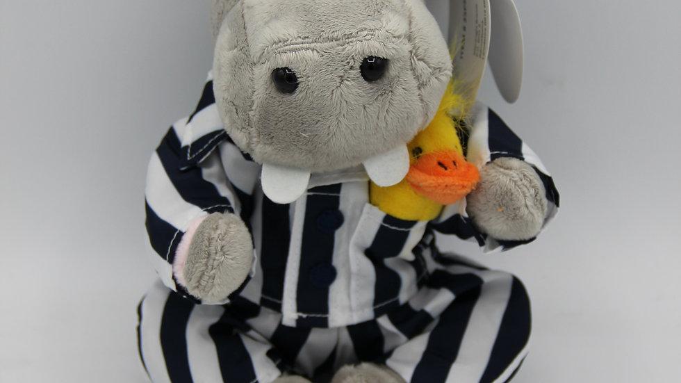 Silent Night Hippo Teddy
