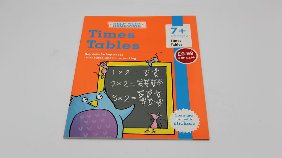 Times Tables Workbook 7+