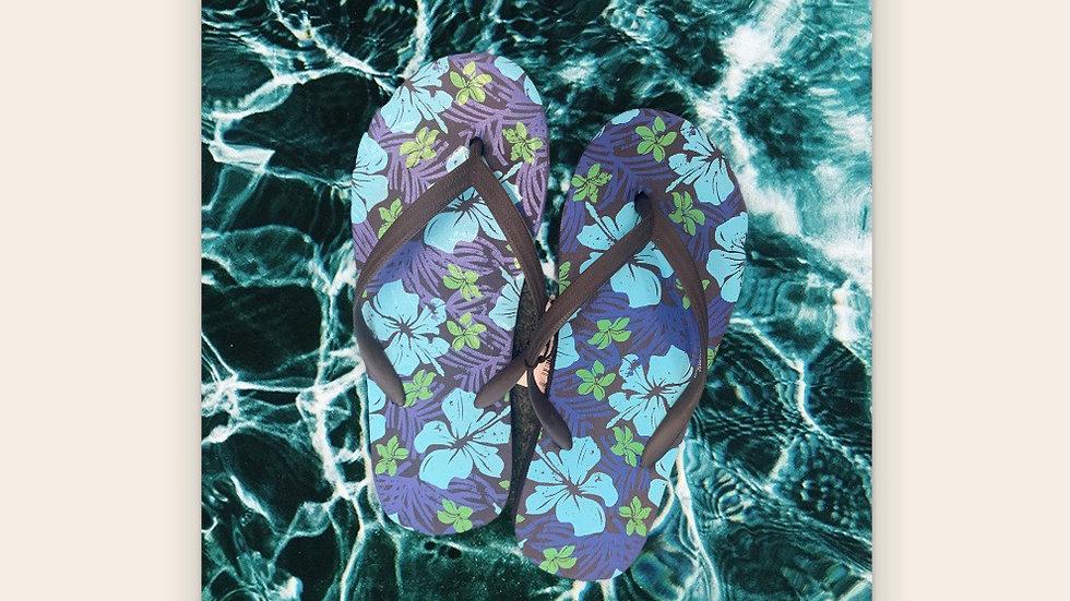 Children's Blue Flip Flops