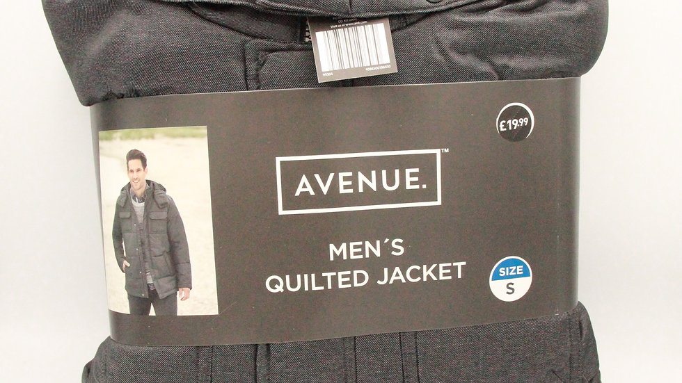Grey Men's Quilted Jacket