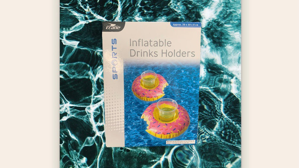 Inflatable Drinks Holder Donut