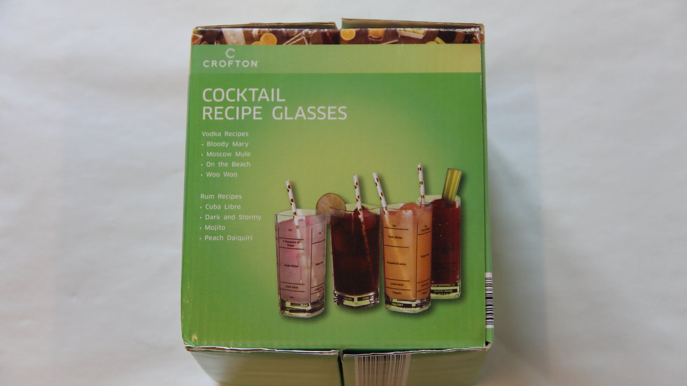 Cocktail Recipe Glasses