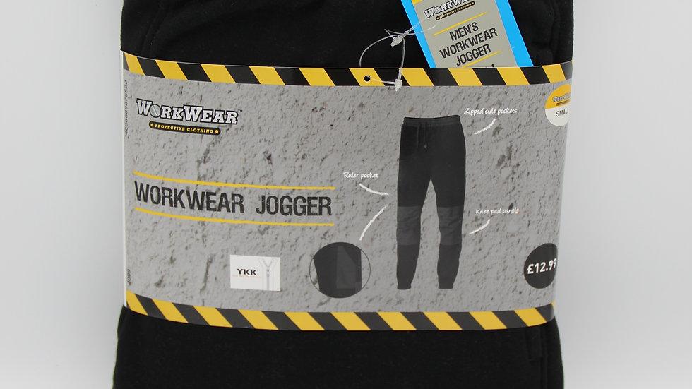 Men's Workwear Black Joggers