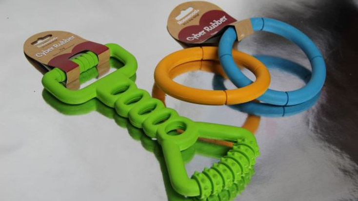 Cyber Rubber Tug Toy