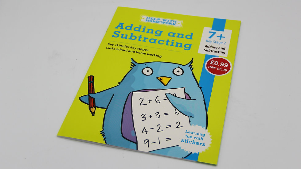 Adding & Subtracting Workbook 7+