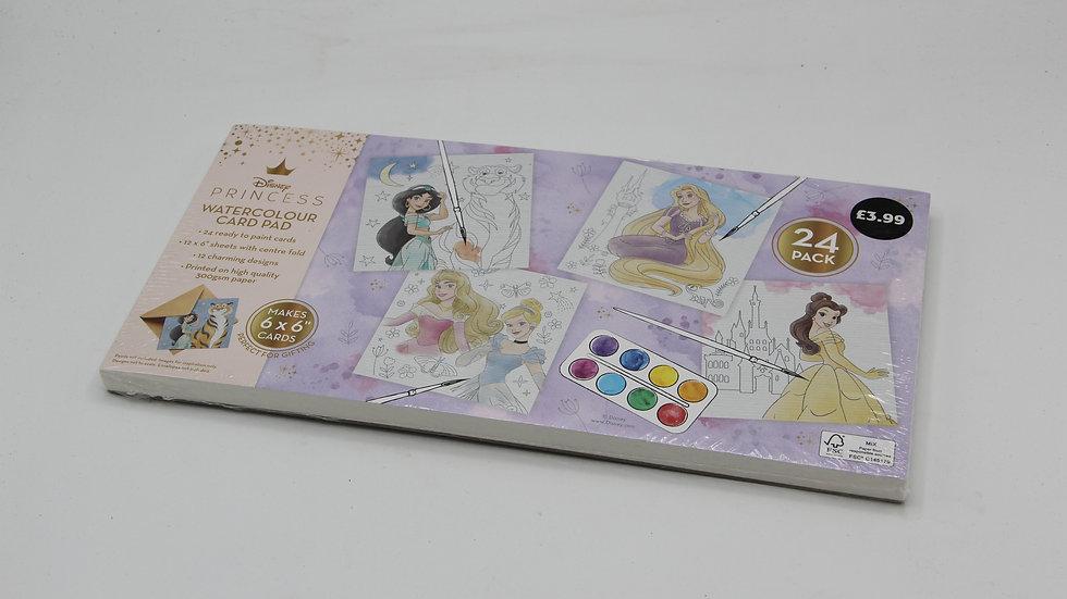 Princess Watercolour Pad