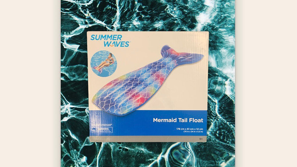 Mermaid Tail Inflatable