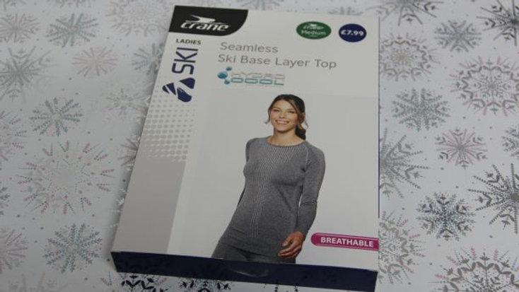 Ladies Ski Base Layer Top